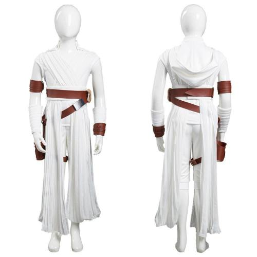 Star Wars: The Rise Of Skywalker Rey Kids Children Pants Top Outfits Halloween Carnival Suit Cosplay Costume