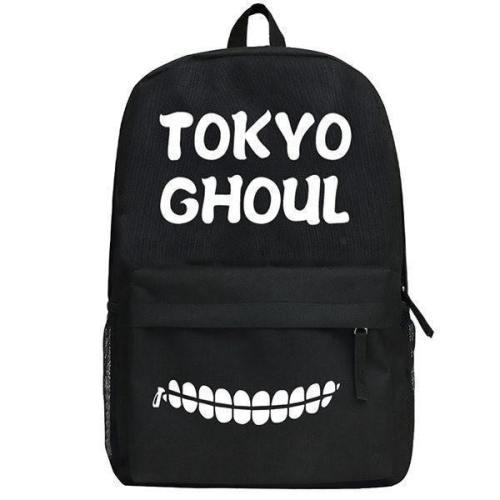 Tokyo Ghoul Black Backpack Knapsack Schoolbag Csso148