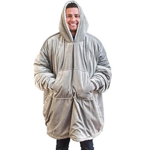 Winter Thick Tv Blanket Sweatshirt