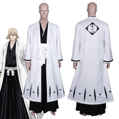 Anime Bleach Urahara Kisuke Coat Pants Outfits Halloween Carnival Suit Cosplay Costume