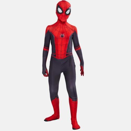 Boys Spiderman Far From Home Zentai Suit Halloween Superman Cosplay Party Carnival Costume