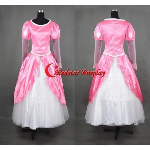 The Daughter Of The Sea Mermaid Bell Princess Ariel Dress Movie Cosplay Costume Custom In Sizes