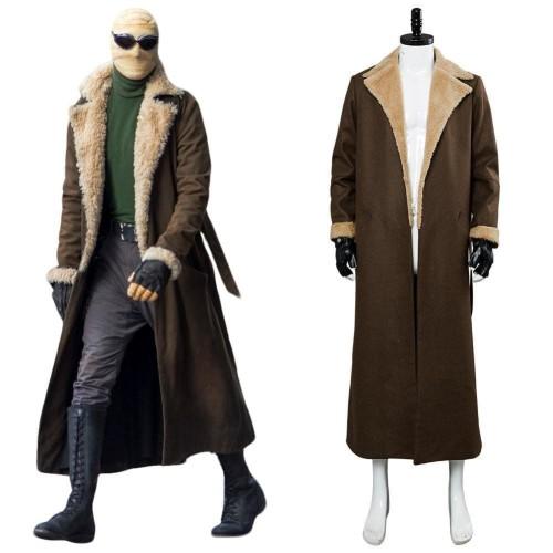 Doom Patrol Negative Man Larry Trainor Cosplay Costume