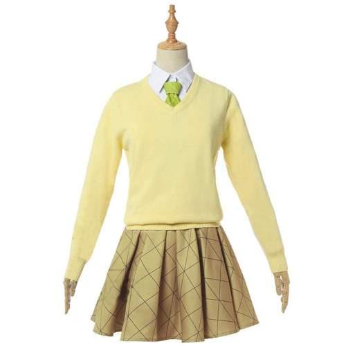 Demon Slayer Kochou Shinobu School Uniform Cosplay Costume