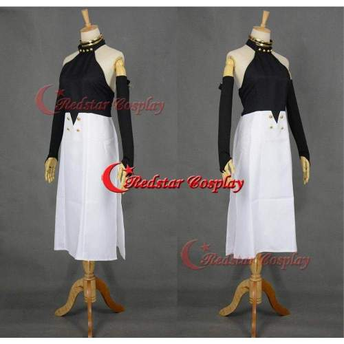 Seraph Of The End Asuramaru Cosplay Costume Black Demon Uniform Dress Gown Suit
