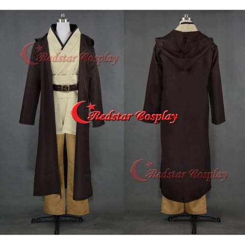 Obi Wan Cosplay Costume From Star Wars Custom In Any Size