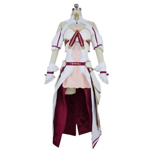 Sword Art Online Alicization Lycoris Yuuki Asuna Outfit Cosplay Costume