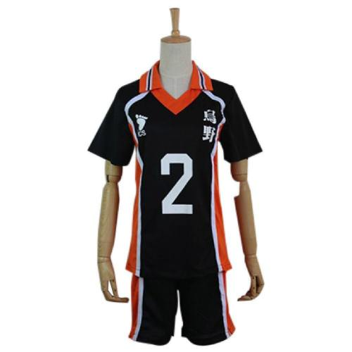Haikyuu Cosplay Costume Sugawara Koushi Sportswear Shirt Jerseys