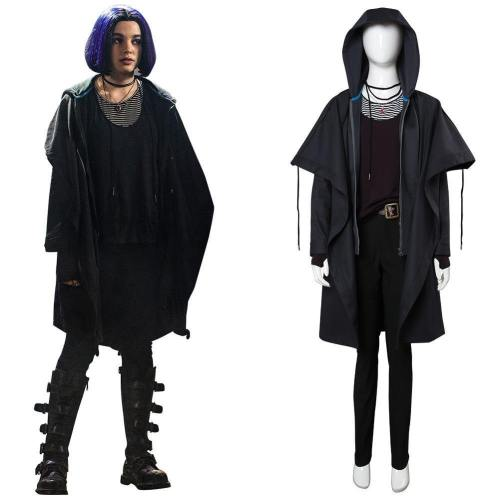 Titans Raven Rachel Roth Outfit Cosplay Costume