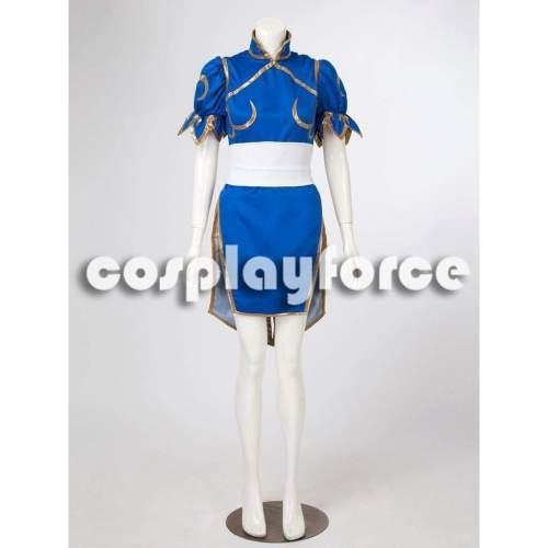 Street Fighter Chun Li Cosplay Costumes mp000407