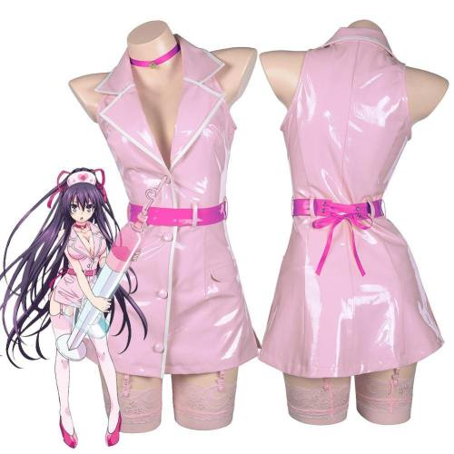 Date A Live Yatogami Tohka Cosplay Women Girls Dress Outfit Halloween Carnival Costume Costume