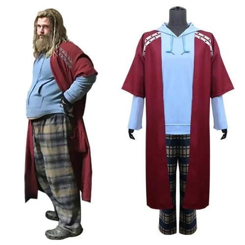 The Avengers 4 Endgame Fat Thor Costume For Men