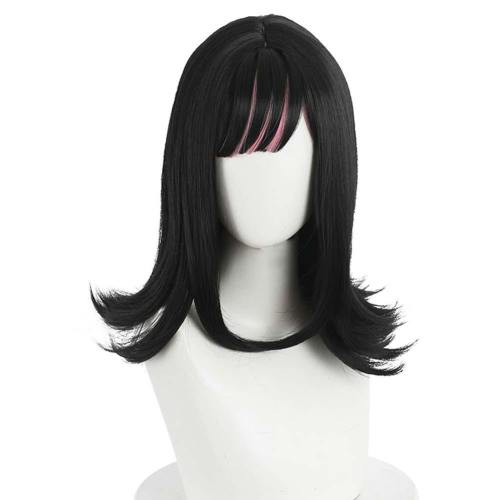 Anime Akudama Drive Ordinary Person/Swindler Heat Resistant Synthetic Hair Carnival Halloween Party Props Cosplay Wig