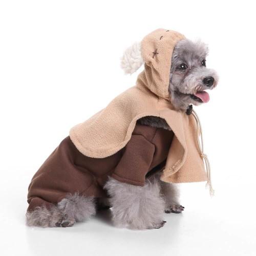 Christmas Star Wars Ewok  Pet Costume Halloween Party Pet Cosplay