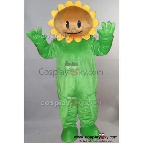 Sunflower Of Plants Vs. Zombies Pvz Mascot Costume Adult Size