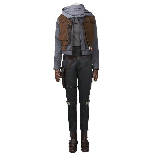 Rogue One: A Star Wars Story Jyn Erso Costume Halloween Cosplay Costume Adult Suit