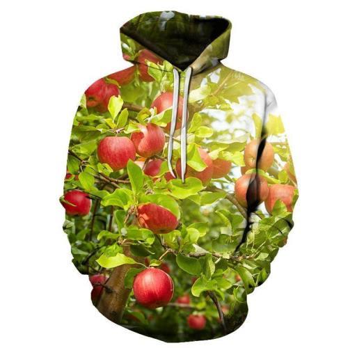 Apple Season 3D - Sweatshirt, Hoodie, Pullover