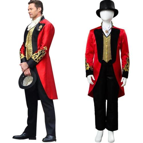 Movie The Greatest Showman P.T. Barnum Cosplay Costume For Kids