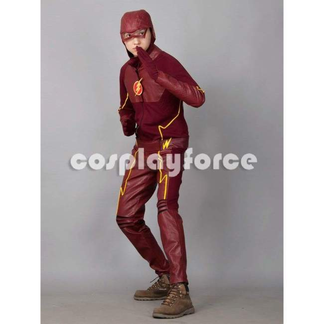 The Flash Barry Allen Cosplay Costume