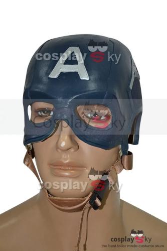 Avengers: Age Of Ultron Captain America Helmet Cosplay Props