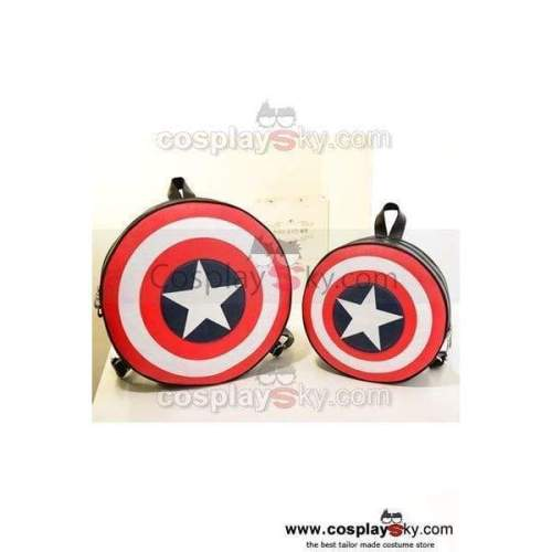Avengers Captain America Shield Backpack Bag