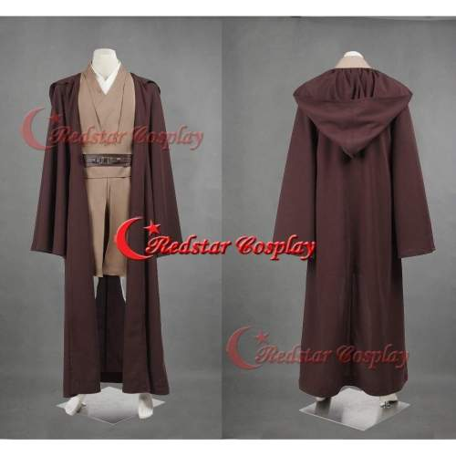 Star Wars Mace Windu Obi-Wan Kenobi Cosplay Costume