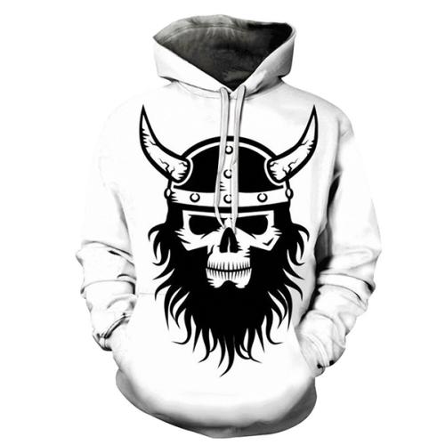 Vikings Beard Hoodie - Sweatshirt, Hoodie, Pullover