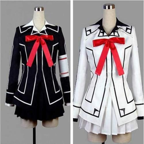 Vampire Knight Cosplay Costume Yuki Cross White or Black Dress uniform Custom for Any Size
