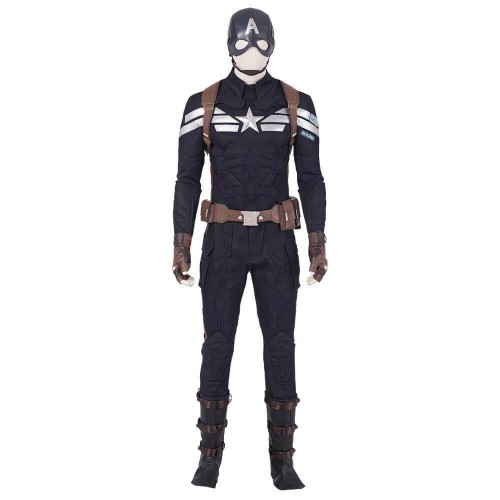 Avengers Endgame Captain America Men Cosplay Suits