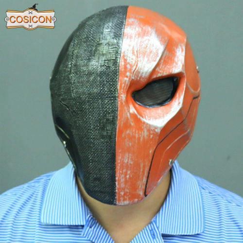 Deathstroke Slade Wilson Cosplay Helmet Full Face Mask Prop