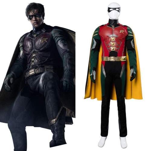 Titans Richard Grayson Robin Cosplay Costume