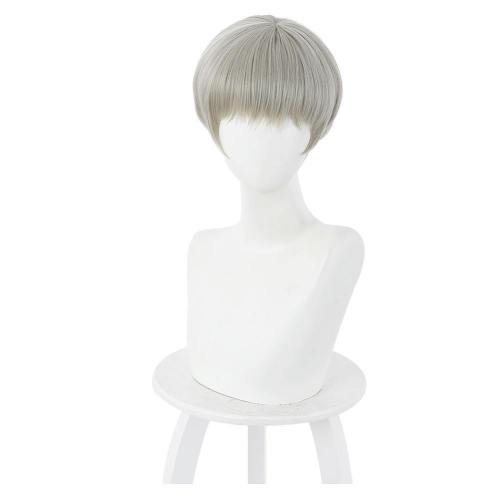 Jujutsu Kaisen Toge Inumaki Heat Resistant Synthetic Hair Carnival Halloween Party Props Cosplay Wig