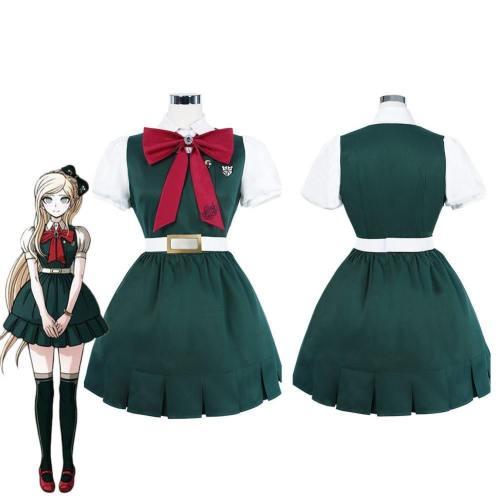Danganronpa 2: Goodbye Despair Sonia Nevermind School Uniform Dress Outfits Halloween Carnival Suit Cosplay Costume