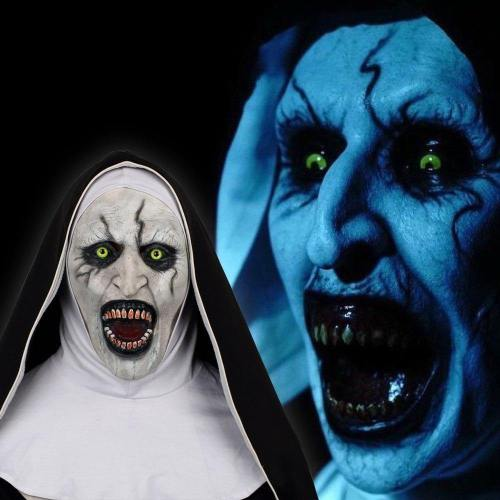 The Nun Horror Mask The Conjuring Valak Cosplay Mask