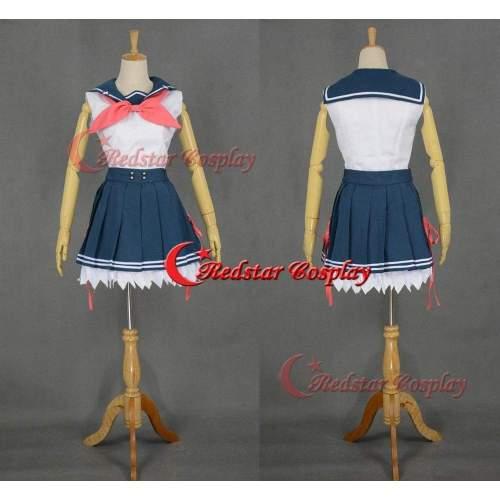 Aokana Ao No Kanata No Four Rhythm Asuka Kurashina Cosplay Costume Suit Uniform