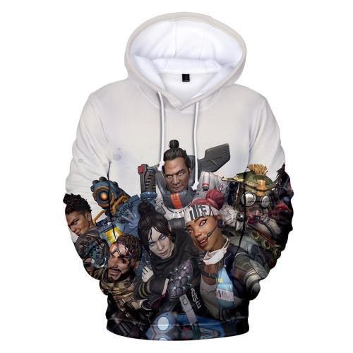 Apex Legends 3D Hoodies Men Women Harajuku Sweatshirts  Print Apex Legends 3D Hoodies Men Casual Sweatshirts