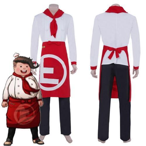 Super Danganrondo 2 Hanamura Teruki Top Pants Suit Halloween Carnival Outfit Cosplay Costume