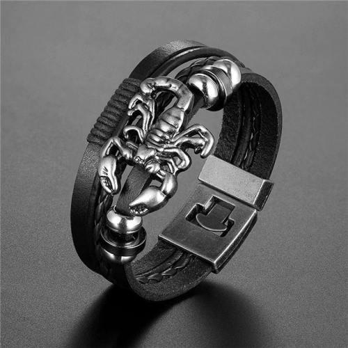 Men'S Scorpion Multi-Layer Bracelet Collection