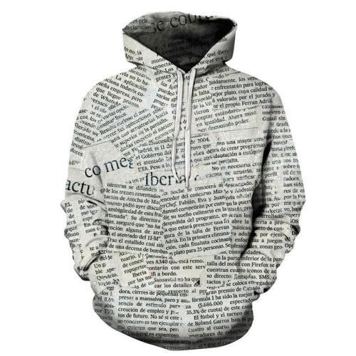 Paper Memories 3D - Sweatshirt, Hoodie, Pullover