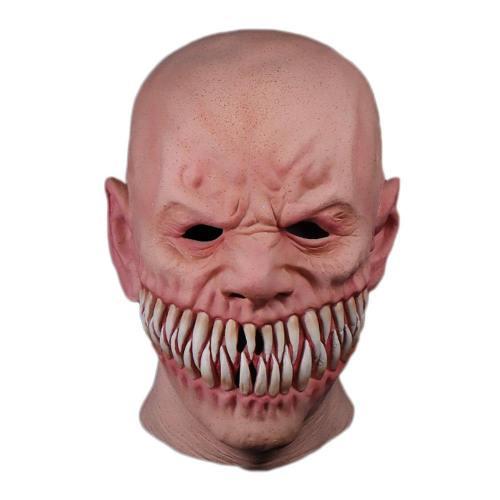 Horror Stalker Clown Big Mouth Teeth Chompers Helmet Cosplay Props