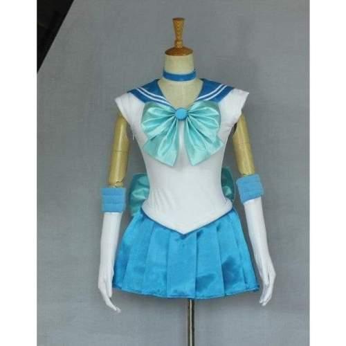 Sailor Moon Sailor Merkury Cosplay Costume Any Size