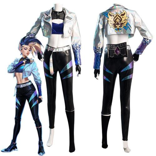 League Of Legends Lol Kda Akali The Rogue Assassin Outfit Halloween Carnival Suit Cosplay Costume