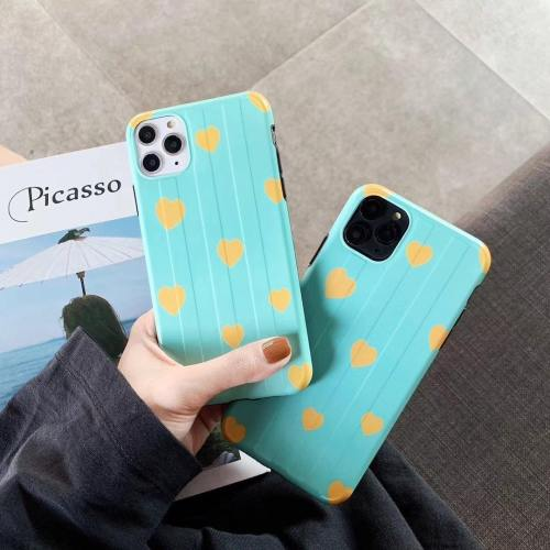 Lovely Hearts Bubble Gum Colored Phone Case