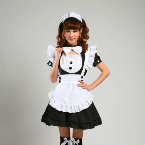 Maid Waitress Costumes - Ms008