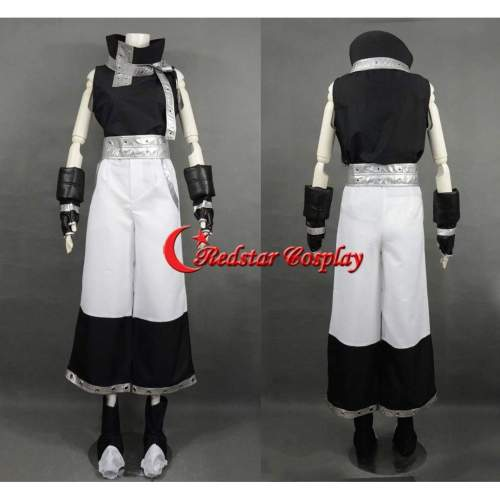 Black Star Cosplay Costume From Soul Eater Custom In Any Size