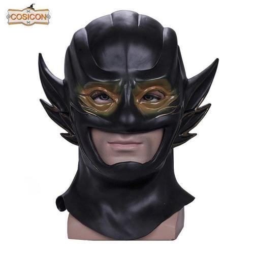 The Flash 3 Mask Cosplay New 52 Reverse-Flash Mask Halloween Helmet Mask Hood