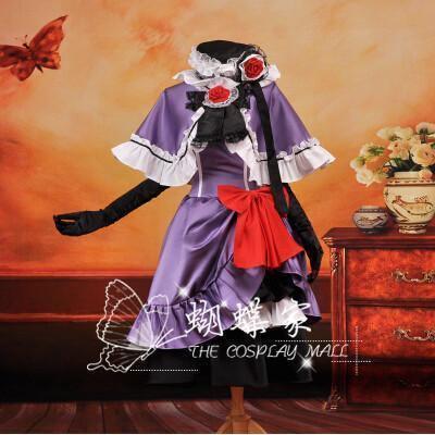 Umineko No Naku Koro Ni Beatrice Cosplay Dress/Costume