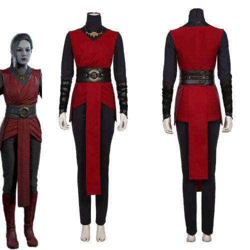Star Wars Jedi:Fallen Order-Nightsister Merrin Women Kimono Dress Outfit Halloween Carnival Costume Cosplay Costume