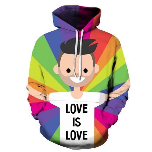 Love Is Love 3D - Sweatshirt, Hoodie, Pullover