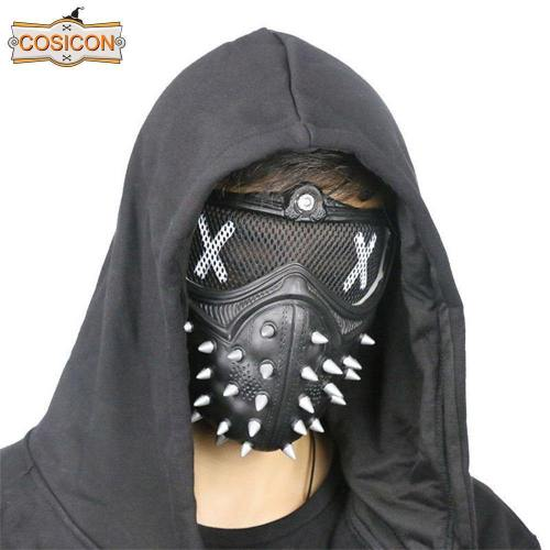Watch Dogs 2 Mask Wrench Holloway Mask Casual Tangerine Mask Halloween Party Prop